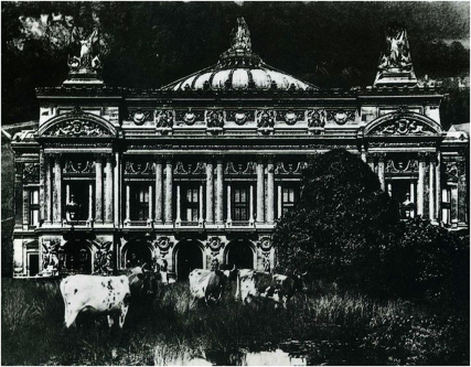 Opéra de Paris by René Magritte. Source: La Révolution Surréaliste no. 12, 1929, p. 46. Available at http://inventin.lautre.net/livres/La-revolution-surrealiste-12.pdf